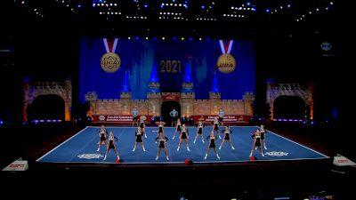 University of Pikeville [2021 Open All Girl Semis] 2021 UCA & UDA College Cheerleading & Dance Team National Championship