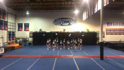 SCV All Stars - Junior Blue [L4 Junior - Small] 2021 Spirit Sports: Virtual Duel in the Desert