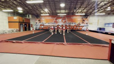 Core Athletix - Silver [L1 Junior - Small] 2021 Varsity All Star Winter Virtual Competition Series: Event V