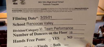 Rancocas Valley High School [Virtual Varsity- Team Performance Prelims] 2021 NDA High School National Championship