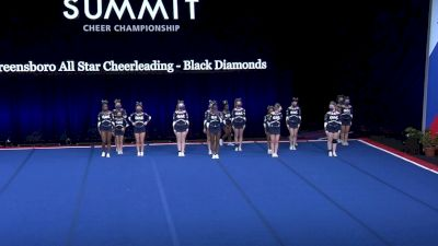 Greensboro All Star Cheerleading - Black Diamonds [2021 L4 Junior - Small Wild Card] 2021 The Summit