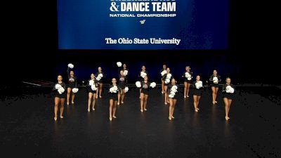 The Ohio State University [2021 Division IA Pom Semis] 2021 UCA & UDA College Cheerleading & Dance Team National Championship