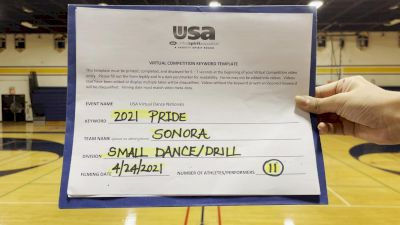 Sonora High School [Dance/Drill Varsity - Small Finals] 2021 USA Spirit & Dance Virtual National Championships