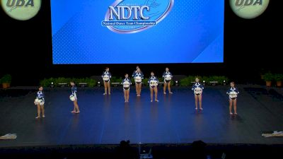 Academy of the Holy Angels [2021 Small Varsity Pom Semis] 2021 UDA National Dance Team Championship
