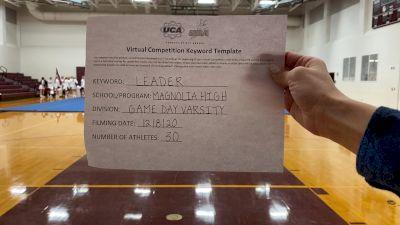 Magnolia High School [Game Day Large Varsity] 2020 UCA Southwest Virtual Regional