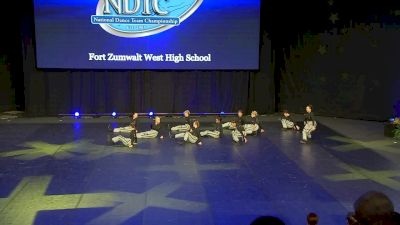 Fort Zumwalt West High School [2020 Small Hip Hop Semis] 2020 UDA National Dance Team Championship