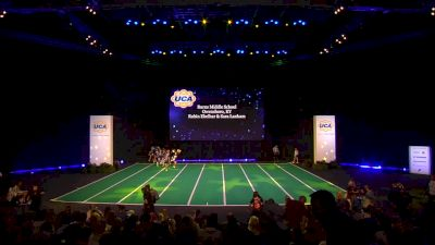 Burns Middle School [2020 Junior High Non Tumbling Game Day Finals] 2020 UCA National High School Cheerleading Championship