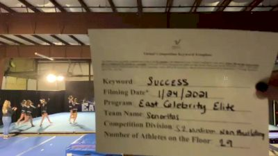 East Celebrity Elite - Senoritas [L2 Senior - Medium] 2021 Athletic Championships: Virtual DI & DII