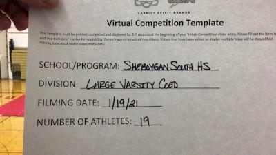 Sheboygan South High School [Large Varsity Coed] 2021 UCA January Virtual Challenge