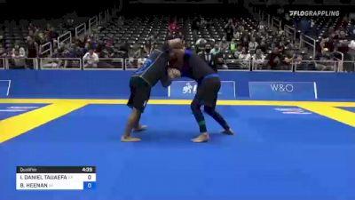 ISAAC DANIEL TAUAEFA vs BENJAMIN HEENAN 2021 World IBJJF Jiu-Jitsu No-Gi Championship