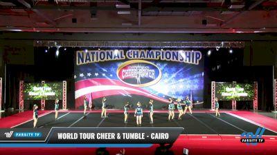 World Tour Cheer & Tumble - Cairo [2021 L3 Junior - D2 Day 2] 2021 ACP: Midwest World Bid National Championship