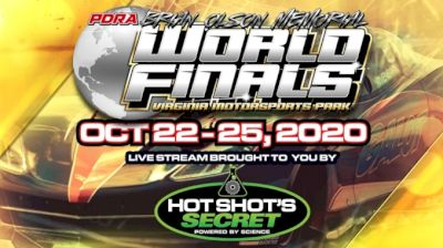 Full Replay | PDRA Brian Olson World Finals 10/24/20