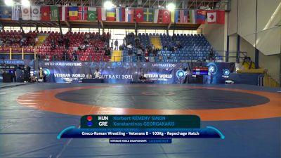 Replay: Mat C - 2021 Veterans World Championships | Oct 22 @ 2 PM