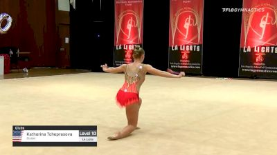Katherina Tcheprasova - Clubs, RHAM - 2020 LA Lights Tournament of Champions