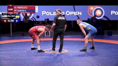 70 kg Match - Alec Pantaleo, USA vs Oleksii Boruta, UKR
