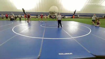130 lbs Rr Rnd 5 - Cyrus Jones, Sharon vs Corbin Bennett, New England Gold
