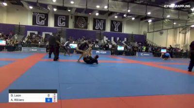 Dante Leon vs Athos Ribiero De 2018 Pan Jiu-Jitsu IBJJF No Gi Championship