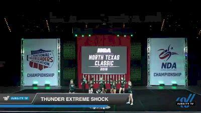 - Thunder Extreme Shock [2019 Senior Coed - Small 4 Day 1] 2019 NCA North Texas Classic