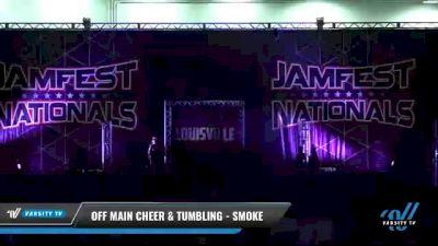 Off Main Cheer & Tumbling - Smoke [2021 L3 Junior - D2 - Small Day 1] 2021 JAMfest: Louisville Championship