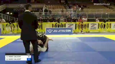 DANIEL MARC CALVERT vs DANIEL MARC CALVERT 2021 Pan Jiu-Jitsu IBJJF Championship