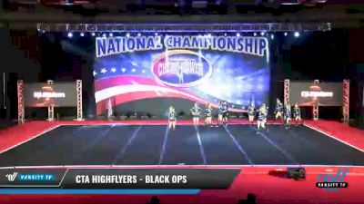 CTA Highflyers - Black Ops [2021 L4 Senior Coed - D2 Day 2] 2021 ACP: Midwest World Bid National Championship