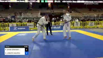 ROBERT SHAW GRAHAM vs DANIEL JOSEPH HALSTED 2020 World Master IBJJF Jiu-Jitsu Championship
