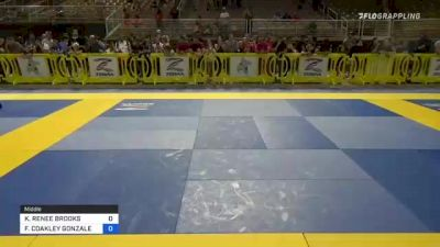 KAYDYN RENEE BROOKS vs FAITHKELLIE COAKLEY GONZALEZ 2021 Pan Kids Jiu-Jitsu IBJJF Championship