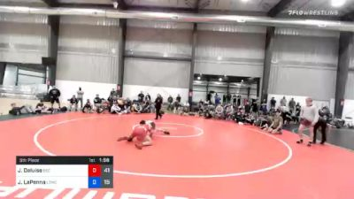 69 kg 5th Place - James Deluise, Beca Gold vs Joseph LaPenna, Lost Boys Wrestling Club
