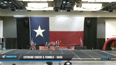 Extreme Cheer & Tumble - Sass [2021 L1 Youth - D2 - Small Day 2] 2021 ACP Power Dance Nationals & TX State Championship