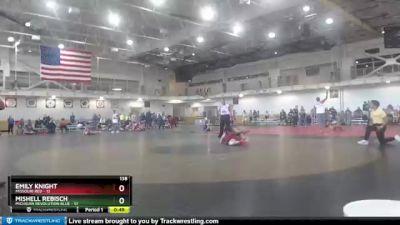 138 lbs Round 2 (4 Team) - Mishell Rebisch, Michigan Revolution Blue vs Emily Knight, Missouri Red