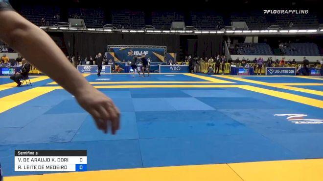 VIKTOR DE ARAUJO K. DORIA vs RODRIGO LEITE DE MEDEIROS 2019 World IBJJF Jiu-Jitsu No-Gi Championship