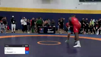 87 kg Semifinal - Alan Vera, New York Athletic Club vs Tommy Brackett, Tennessee