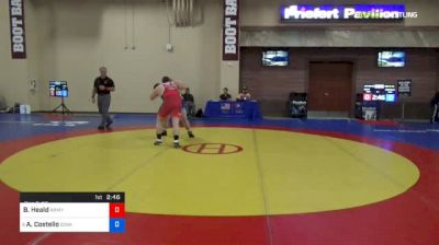 125 kg Con 8 #2 - Bobby Heald, Army West Point vs Aaron Costello, University Of Iowa