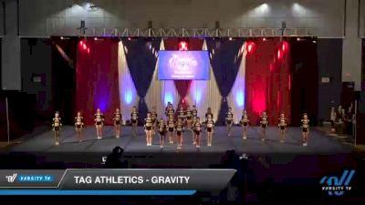 TAG Athletics - Gravity [2021 L3 Senior - D2 - Medium Day 2] 2021 The American Royale DI & DII