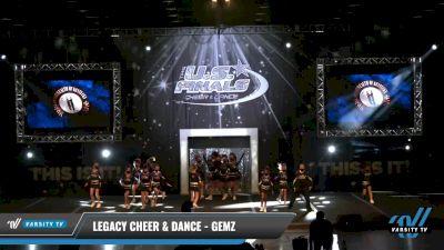 Legacy Cheer & Dance - Gemz [2021 L1.1 Youth - PREP - D2 - B Day 1] 2021 The U.S. Finals: Louisville