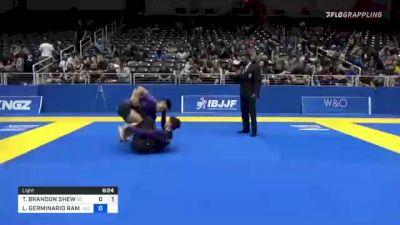 TYLER BRANDON SHEW vs LUCA GERMINARIO RAMACI 2021 World IBJJF Jiu-Jitsu No-Gi Championship