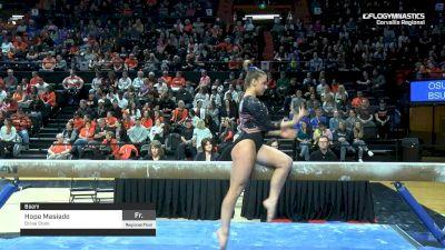 Hope Masiado - Beam, Boise State - 2019 NCAA Gymnastics Regional Championships - Oregon State