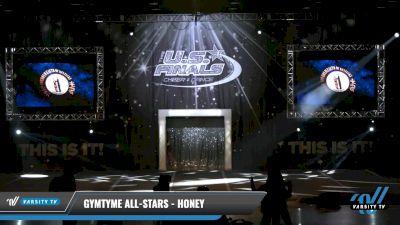 GymTyme All-Stars - Honey [2021 L2 Junior - Novice Day 1] 2021 The U.S. Finals: Louisville