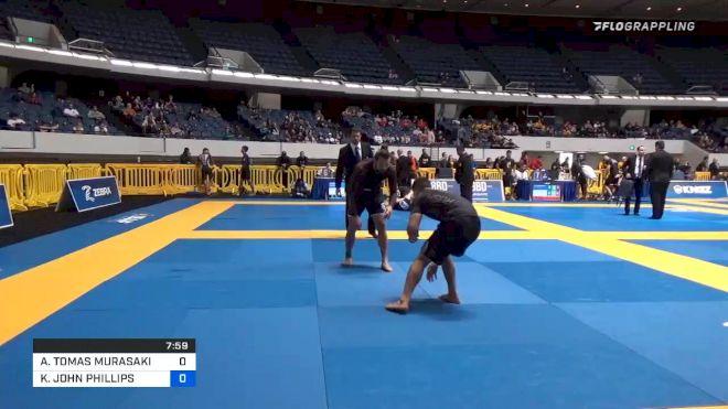 ANDY TOMAS MURASAKI PEREIRA vs KYLER JOHN PHILLIPS 2019 World IBJJF Jiu-Jitsu No-Gi Championship