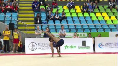 Akash Modi - Floor, United States - 2018 Pacific Rim Championships