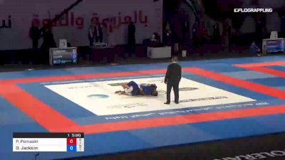 Philippe Pomaski vs Dj Jackson Abu Dhabi World Professional Jiu-Jitsu Championship
