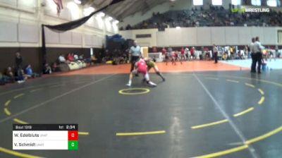 125 lbs Consi Of 8 #2 - William Edelblute, Unattached - Utah Valley University vs Van Schmidt, Unattached - Nebraska Kearney