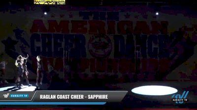Raglan Coast Cheer - Sapphire [2021 L3 Junior - Medium Day 1] 2021 The American Celebration DI & DII