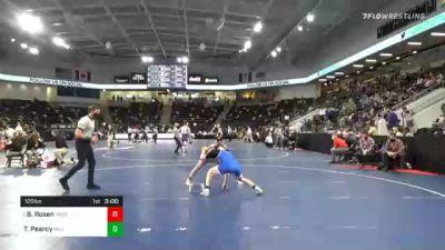 125 lbs Prelims - Bradley Rosen, North Central College vs Trey Pearcy, Millikin University