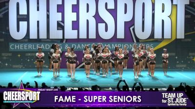 FAME All Stars - Midlo - Super Seniors [2019 Medium Senior 5 Day 1] CHEERSPORT Nationals: Friday Night Live