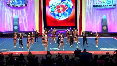 KC Cheer - FIERCE FIVE [2018 Senior Small Coed Semis] The Cheerleading Worlds