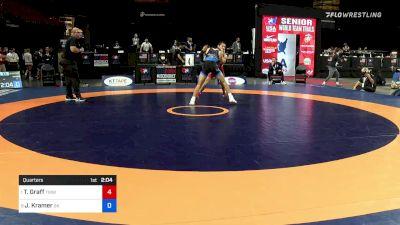 61 kg Quarters - Tyler Graff, Titan Mercury Wrestling Club vs Josh Kramer, Sunkist Kids Wrestling Club