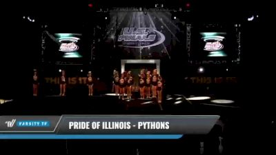 Pride of Illinois - Pythons [2021 L4.2 Senior Day 1] 2021 The U.S. Finals: Kansas City