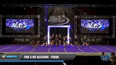 Fire & Ice Allstars - Fuego [2021 L2 Junior - Small Day 2] 2021 The U.S. Finals: Ocean City