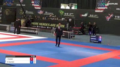 Iasmim Casser vs Sujeiry Guzman 2018 Abu Dhabi Grand Slam Los Angeles